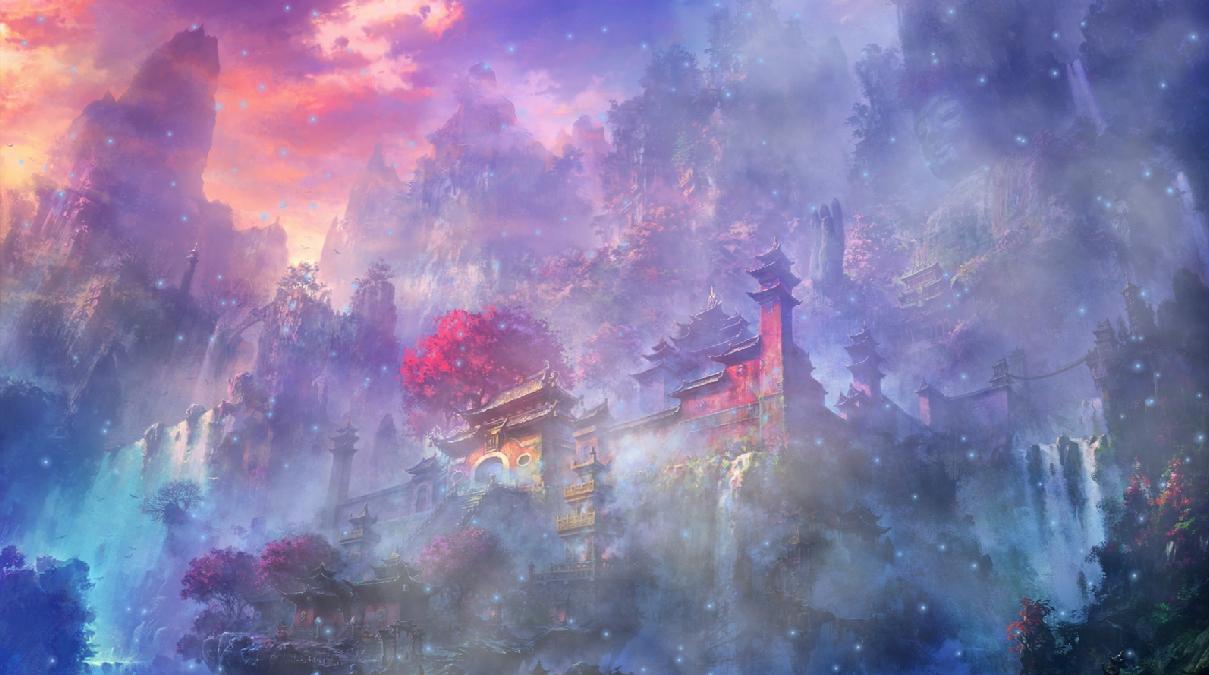 3d Moving Wallpaper Download For Windows 7 Celestial Houses Animated Wallpaper Desktopanimated Com