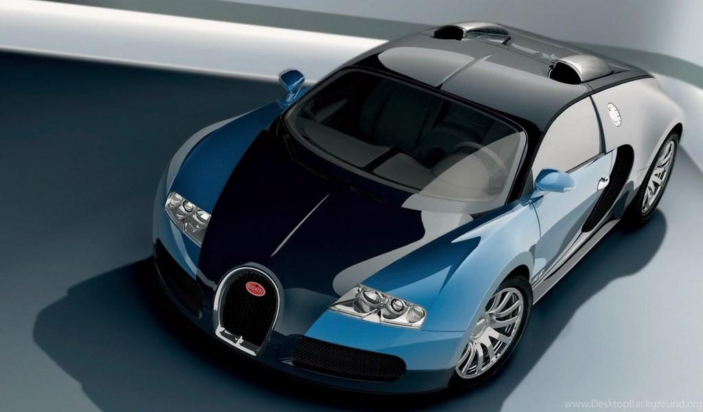 Wallpapers Bugati Veron Bugatti Veyron Study Blue Front Top - studyblue