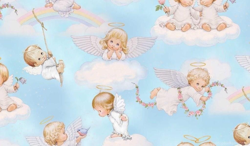 Babies Wallpapers Cute Baby Pictures Justpict Com Baby Angels In Heaven Wallpapers Desktop