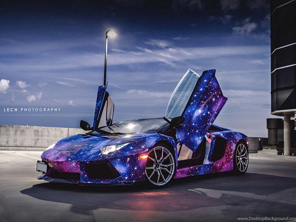 Hd Car Wallpapers 1600x1200 Galaxy Lamborghini Aventador Wallpapers Desktop Background