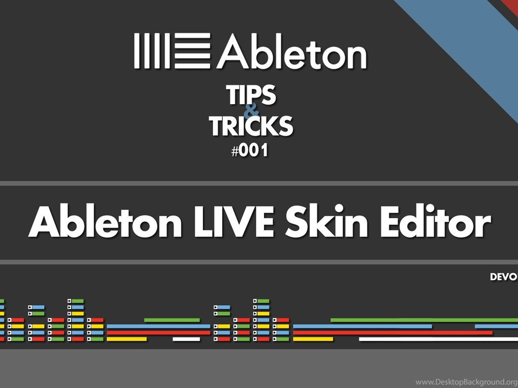 Live Wallpaper For Iphone 3gs Ableton Live Tips Amp Tricks 001 Live Skin Editor Youtube