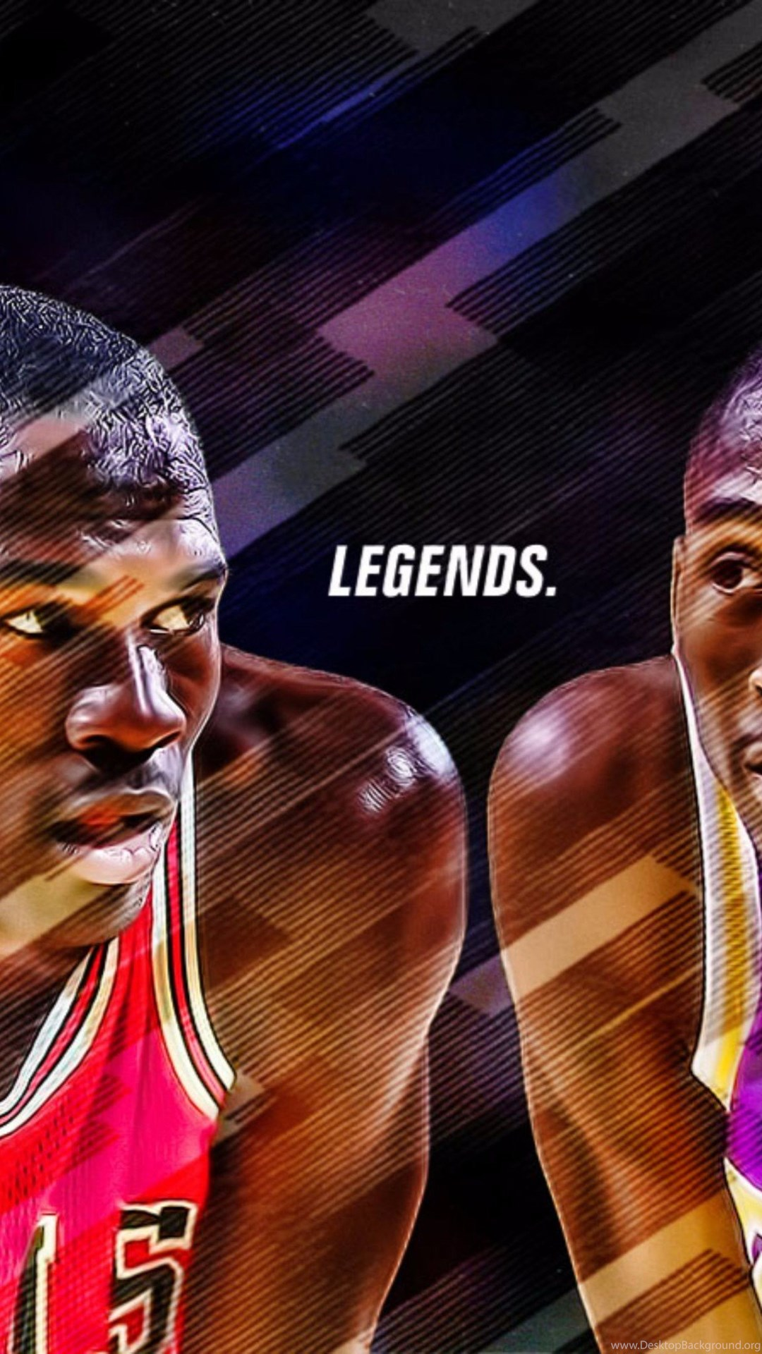 Michael Jordan Wallpaper Iphone 5 Jordan And Kobe Bryant 4k Wallpapers Desktop Background