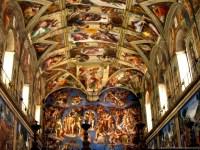 Sistine Chapel Ceiling High Resolution Desktop Background