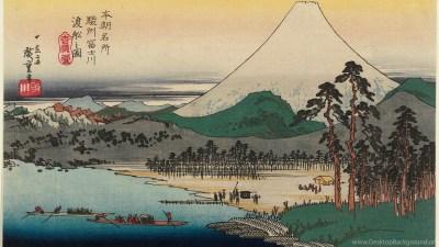 Ukiyo e Wallpapers Desktop Background