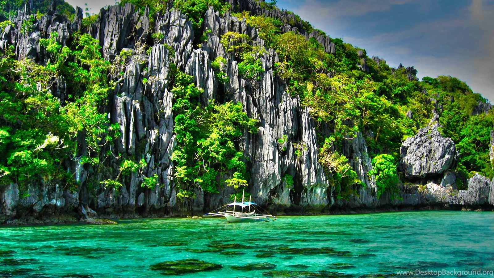 Iphone X 3d Touch Wallpaper El Nido Palawan Philippines Wallpapers Desktop Background