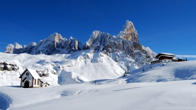 Dolomites. Alps Italy. Winter Snow Wallpapers :: HD Wallpapers Desktop Background