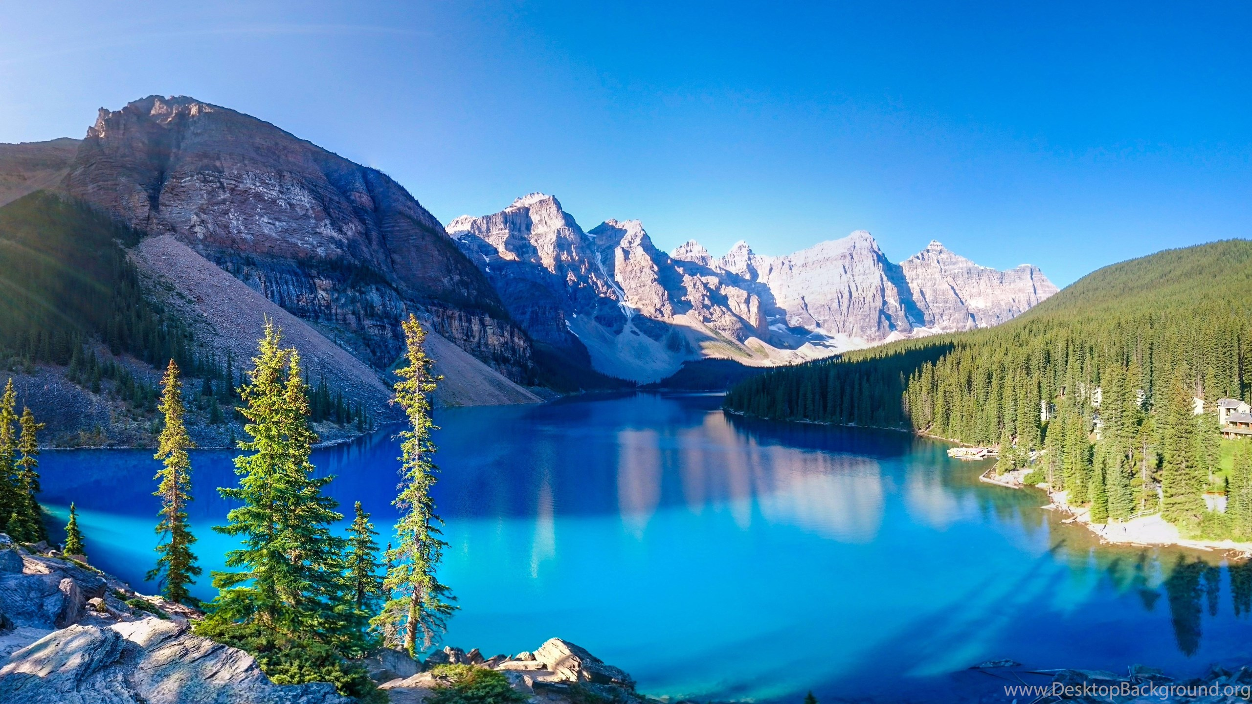 Iphone 4s Hd Wallpapers 1080p Lakes Moraine Lake Mountain Nature Fun Forest Cool