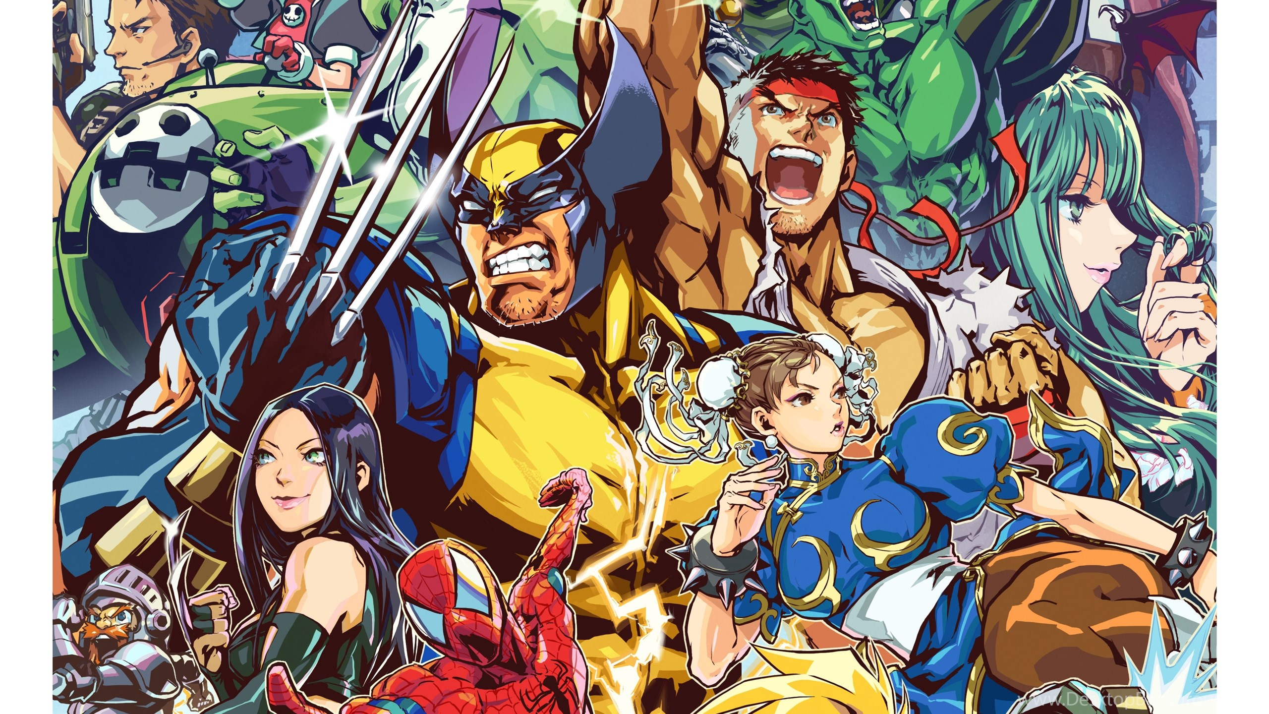 Iphone X Wallpaper For Note 8 13 Quality Marvel Vs Capcom Wallpapers Video Games