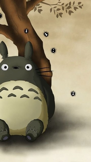 Iphone X Colour Wallpaper Totoro My Neighbor Totoro Wallpapers Anime Wallpapers
