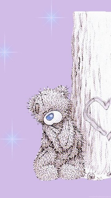 Cute Home Screen Wallpaper For Android Wallpapers Tatty Teddy Flower Me To You Free Screensavers