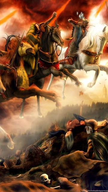 Iphone 4 Wallpaper Resolution Four Horsemen Of The Apocalypse Wallpapers Wallpapers Cave