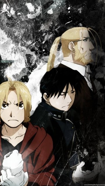Animes Wallpaper Wallpapers Fma Brotherhood Full Metal Alchemist Hd 423628