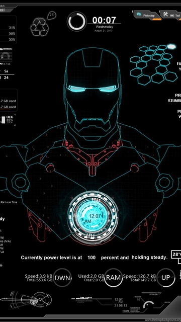 Stark Industries Wallpaper Iphone 5 Jarvis Mark 3 Iphone 5