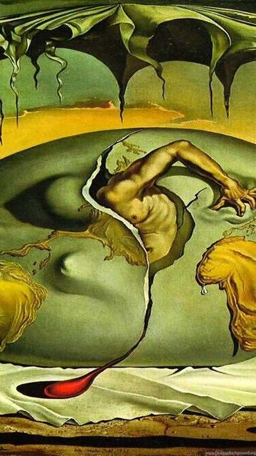 Iphone X Colour Wallpaper Wallpapers Salvador Dali Artwork 1920x1200 Desktop Background