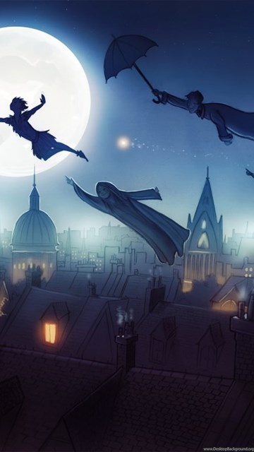 Iphone X Wallpaper Download Hd Peter Pan Wallpapers Neverland Desktop Background