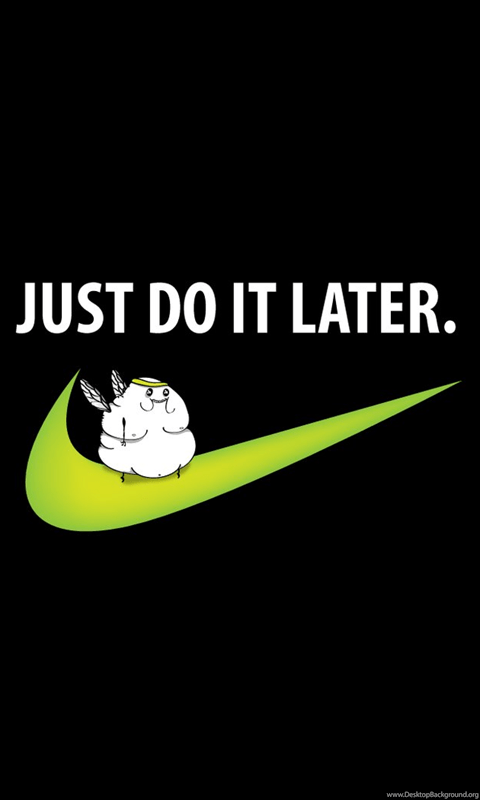 Best Hd Wallpaper For Android Mobile Fat Fairy On The Nike Sign Wallpapers Funny Wallpapers