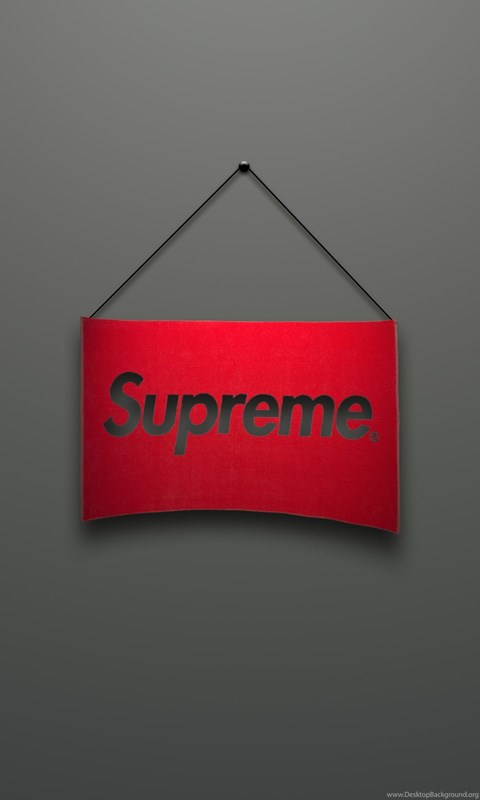 Iphone X 3d Touch Wallpaper Download Wallpapers 3840x2160 Supreme Logo Red