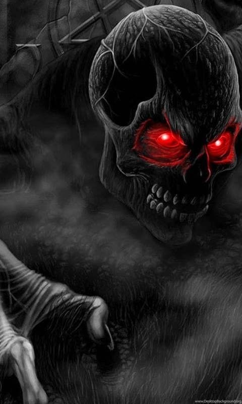 3d Wallpaper Home Screen 3d Horror Skull Hd Wallpapers Android Apps And Tests