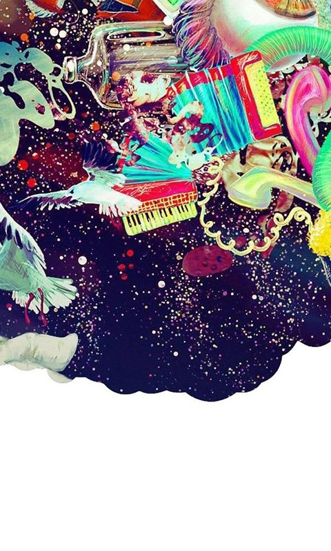 Trippy Wallpapers Hd Iphone Imaginary Foundation Astronauts Colors Creativity Dreams