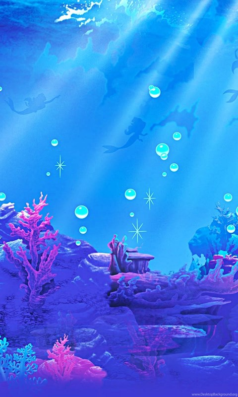 Ariel Wallpaper Iphone Jestingstock Com Little Mermaid Under The Sea Wallpapers