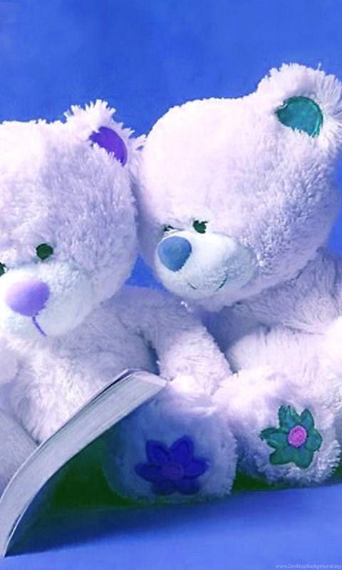 Cute Teddy Bear And Love Wallpapers Download For Mobile Cute Friendship Blue Teddy Bears Cute Love Teddy Bear Free