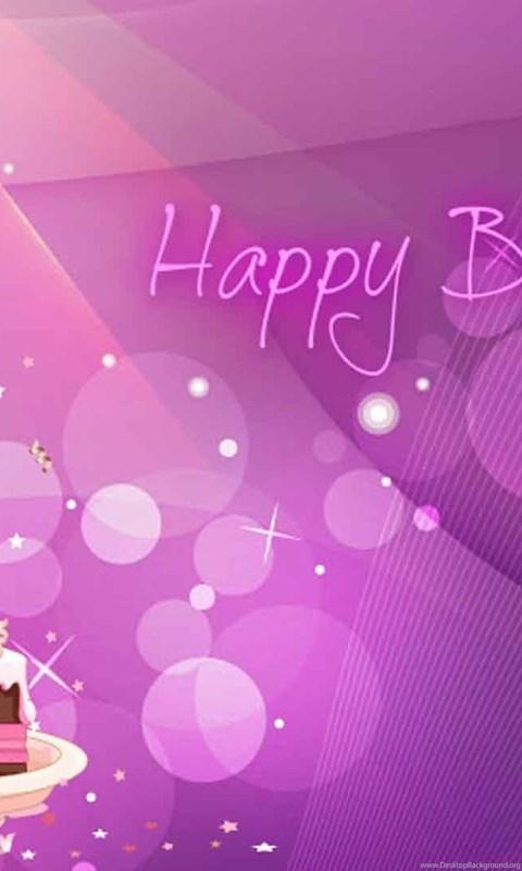 Wallpaper Iphone Purple 32 Birthday Backgrounds Designs Desktop Background