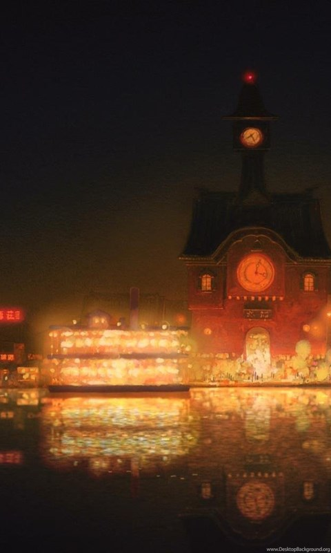 Wallpaper For Iphone 4s Black Spirited Away Scenery Wallpapers Artist Kazuo Oga Album