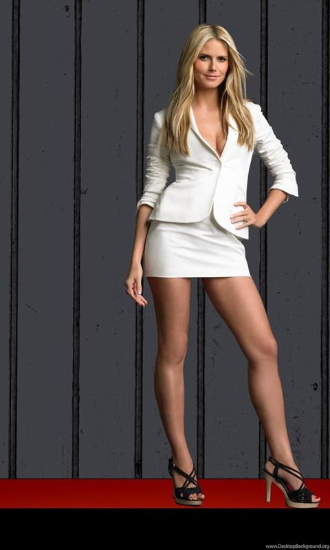 Iphone 7 Plus Wallpaper Size Heidi Klum Hot Mini Skirt Wallpapers Desktop Background