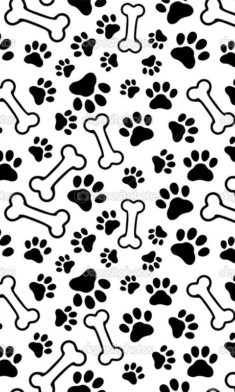 Iphone X Wallpaper Outline 17 Best Photos Of Dog Paw Print Backgrounds Free Dog Paw