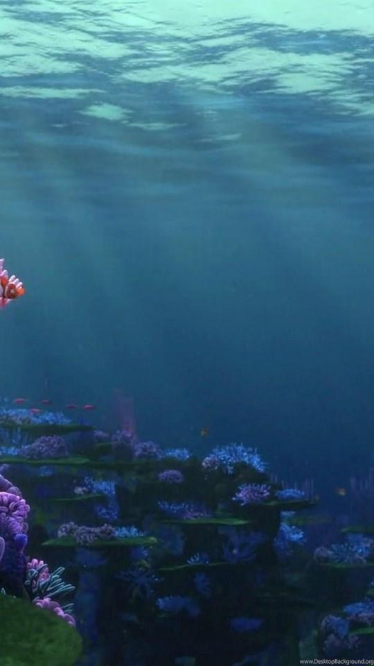 Iphone X Wallpaper Size Finding Nemo Ocean Backgrounds Desktop Background
