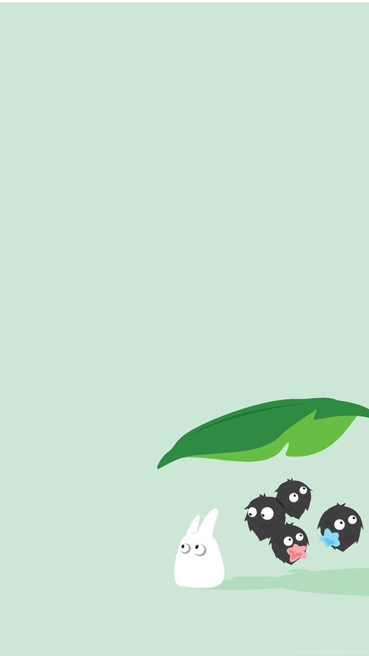 Cute Totoro Wallpaper Disney X Ghibli Wallpapers I Made Imgur Desktop Background