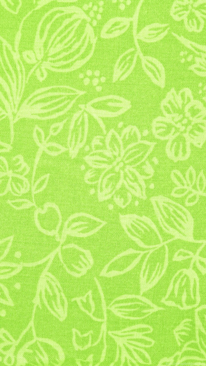Floral Wallpaper For Iphone 5 Lime Green Fabric With Floral Pattern Texture Free High