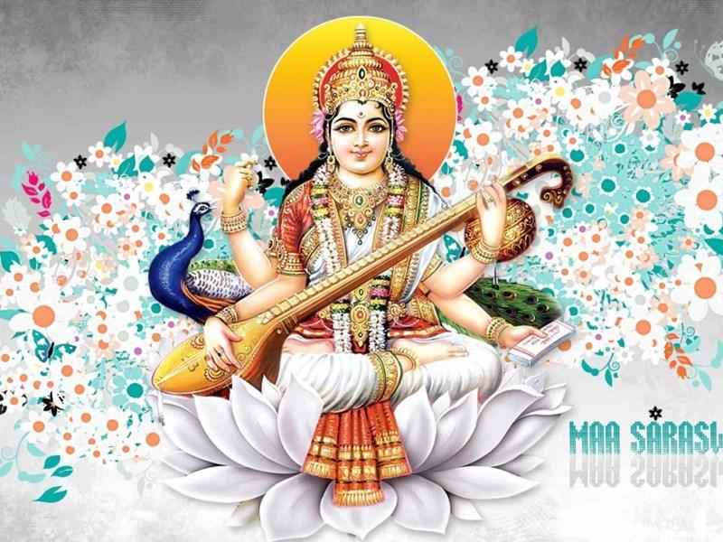Durga Puja 3d Wallpaper Maa Saraswati Hd 3d Images Full Hd Wallpapers For Desktop