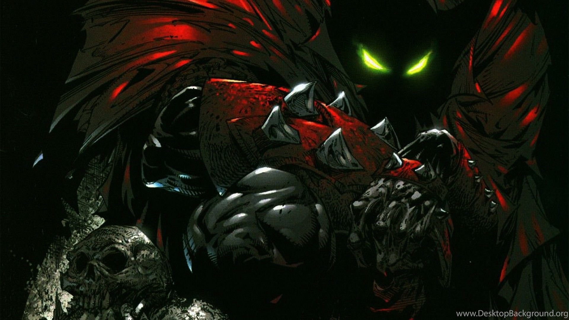3d Animated Wallpaper Windows 8 Spawn Hd Wallpapers Made By Todd Mcfarlane Ready As
