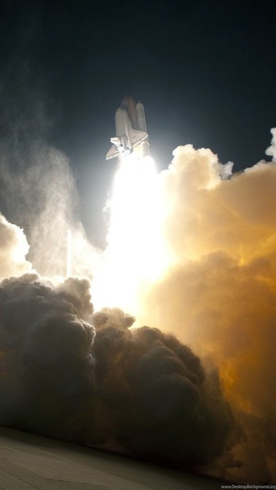 NASA Space Shuttle Taking Off iPhone 5 Wallpapers (640x1136) Desktop Background