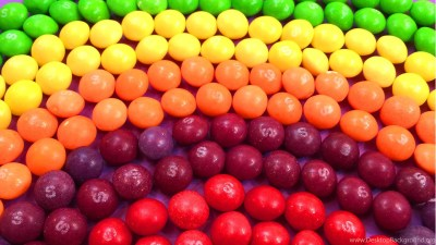 Learn Colours With Rainbow And Candy Skittles! Funny Learning ... Desktop Background