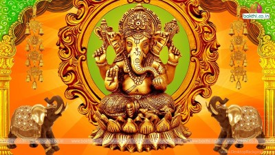 Lord Ganesha Hd Wallpapers With Creative Design Desktop Background
