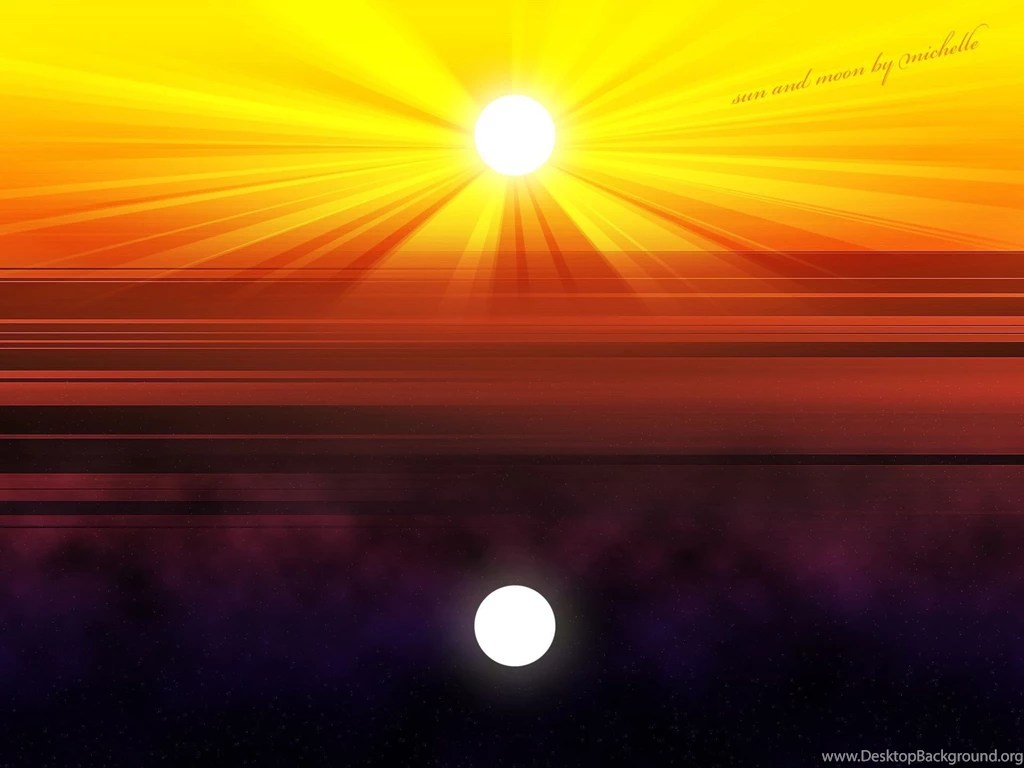 Lavender Color Wallpaper Hd Sun And Moon Hd Wallpaper Sun And Moon Pictures New