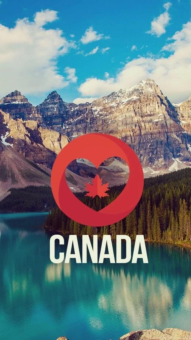 Lavender Color Wallpaper Hd Canada Nature Landscape Iphone 5s Wallpapers Download