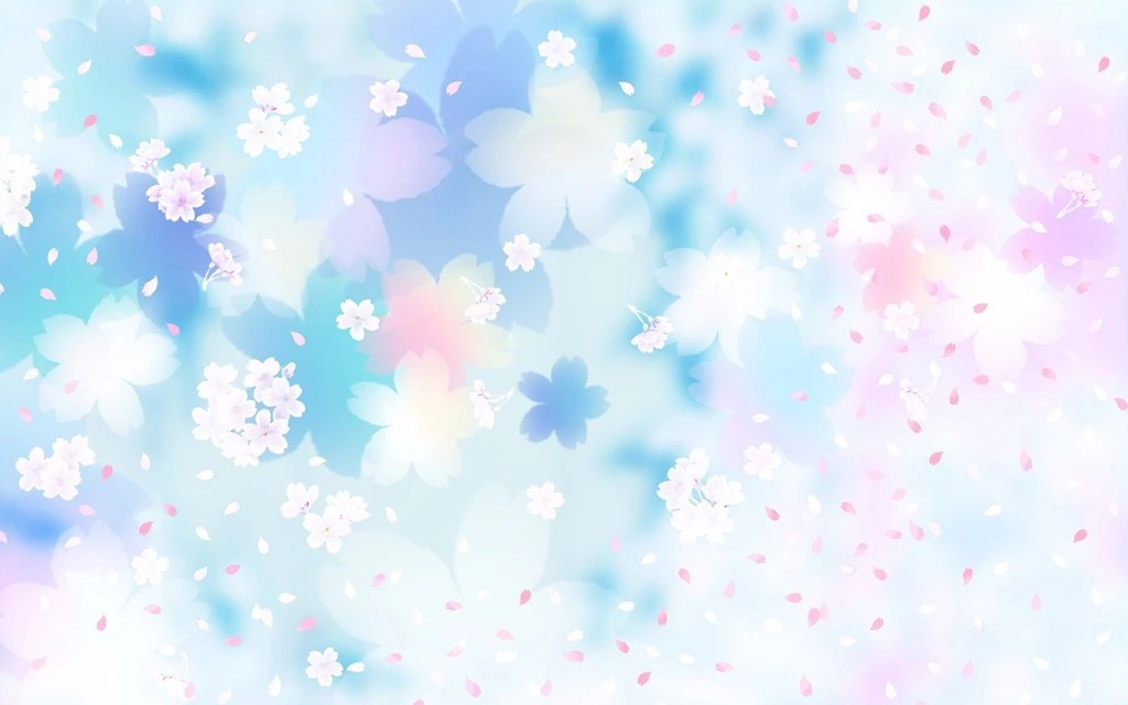 Gallery For Blue And Pink Flowers Backgrounds Desktop Background - blue flower backgrounds