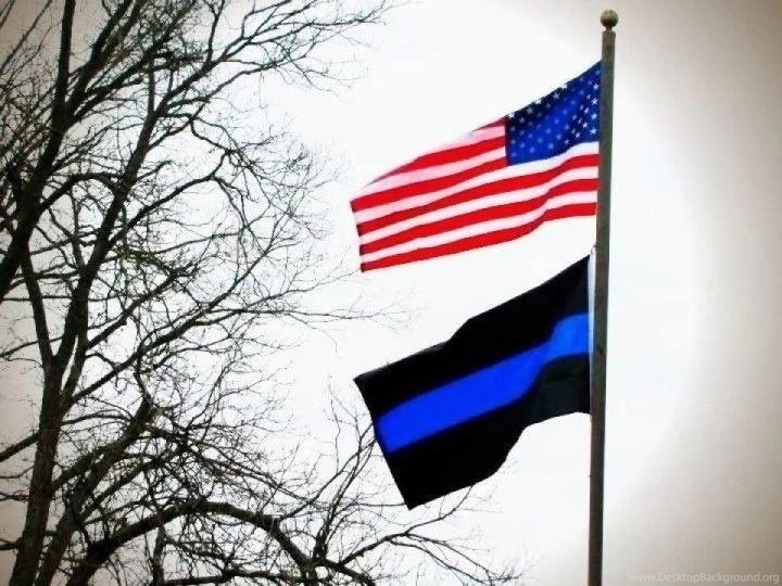 Live Wallpaper For Iphone 3gs Thin Blue Line Flag Desktop Background