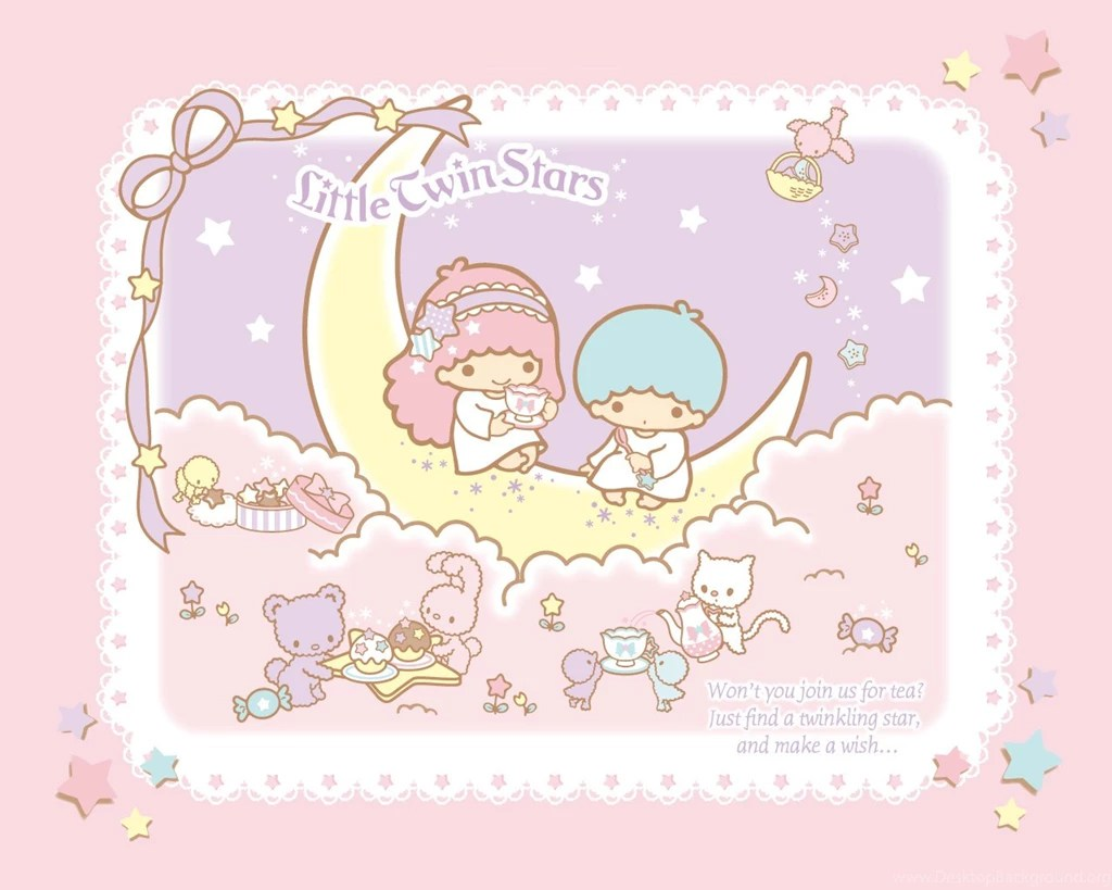 Iphone 5 Wallpaper Gold Wallpapers Little Twin Star Liitle Stars Sanrio Pastels