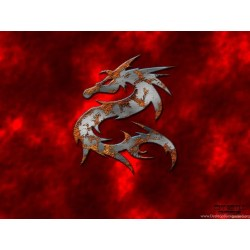 Small Crop Of Red Dragon Wallpaper