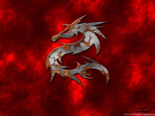 Medium Of Red Dragon Wallpaper