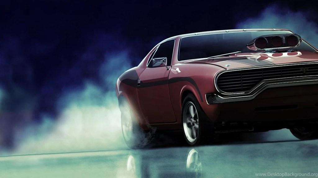 American Muscle Car Desktop Wallpapers Cars Burnout Supercharger American Muscle Car Wallpapers