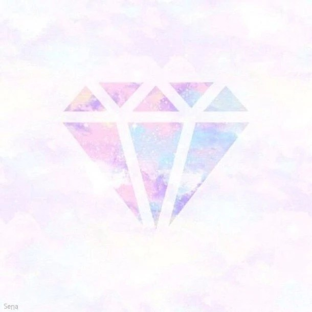 Watercolor Wallpaper Backgrounds Quote Background Diamond Pastel Wallpapers Cawaii ダイヤモンド