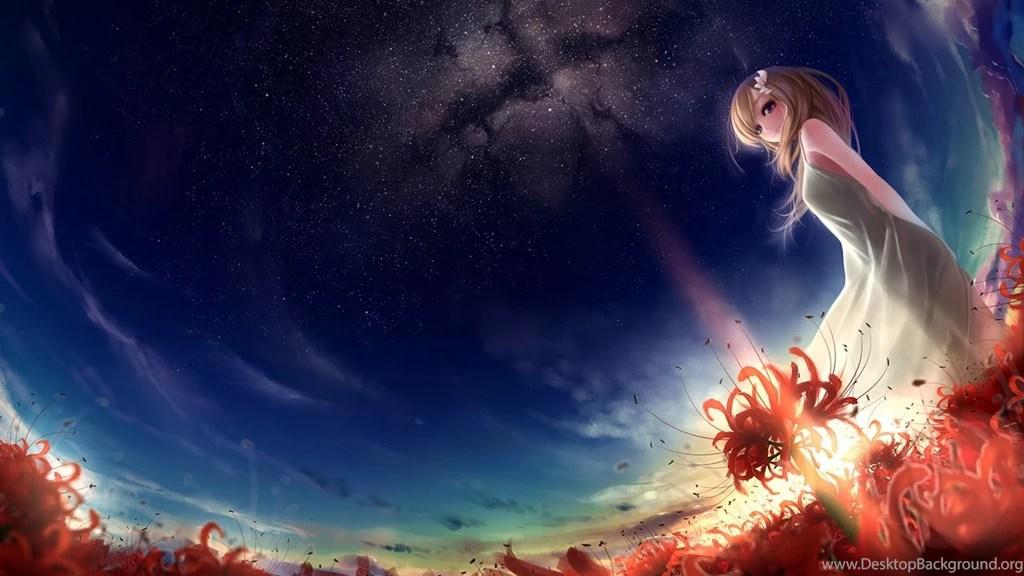Lavender Color Wallpaper Hd Fantasy Anime Girl Wallpapers Hd Hd Desktop Wallpapers