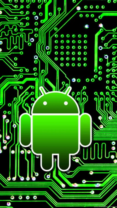 Android Circuit Board 01 Galaxy S5 Wallpapers HD.jpg Desktop Background