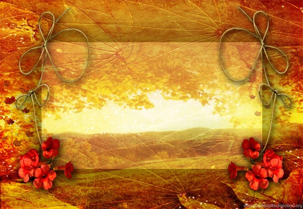 16 Best Photos Of Fall PowerPoint Templates Free Fall Border