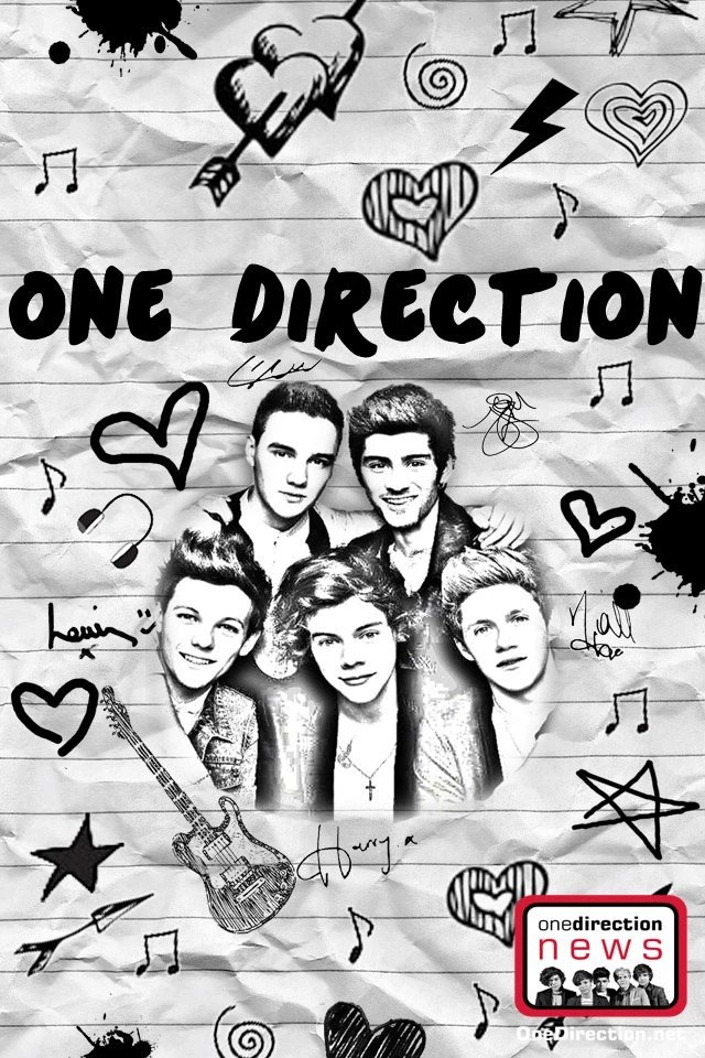 Cute Bow Iphone Wallpaper One Direction Phone Wallpapers Choice Image Wallpaper
